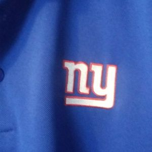 New York Giants collared shirt